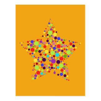 Rainbow Superstar Post Cards