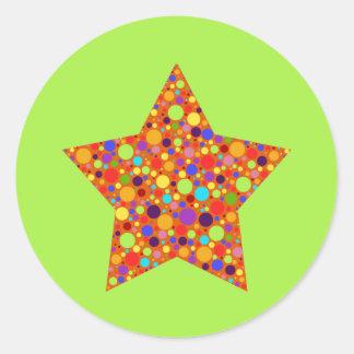 Rainbow Superstar Sticker