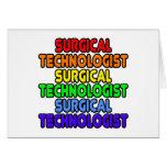 Rainbow Surgical Technologist Cards
