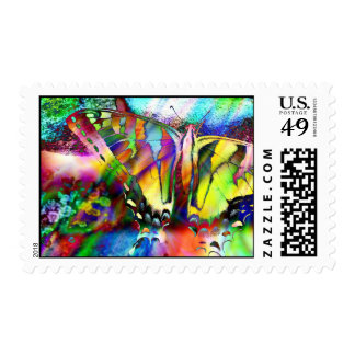 Rainbow Swallowtail Postage Stamp