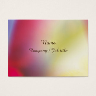 Rainbow Sweet Abstract Paint Reasonable Business Card