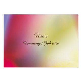 Rainbow Sweet Abstract Paint Reasonable Large Business Card