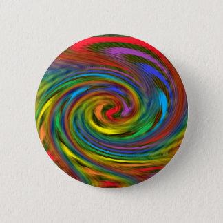 Rainbow Swirl Button