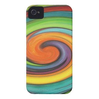 Rainbow Swirl Case-Mate iPhone 4 Cases