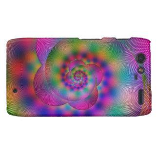 Rainbow Swirl Motorola Droid RAZR Covers