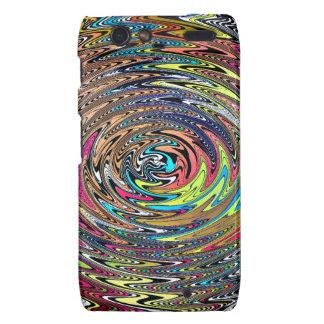 Rainbow Swirl Droid RAZR Cases