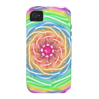 rainbow swirl iPhone 4 cases