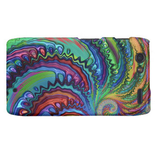 Rainbow Swirl Fractal Droid RAZR Cover
