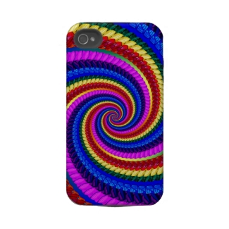 Rainbow Swirl Fractal Pattern