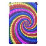 Rainbow Swirl Fractal Pattern Case For The iPad Mini