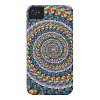 Rainbow Swirl iPhone 4 Cover
