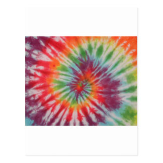 Rainbow Swirl Post Card