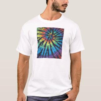 Rainbow Swirl Spiral Tie Dye PhatDyes T-Shirt