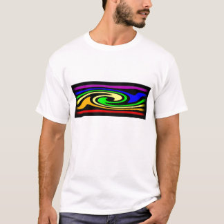 Rainbow Swirl to Show your Gay and Lesbian Pride T-Shirt