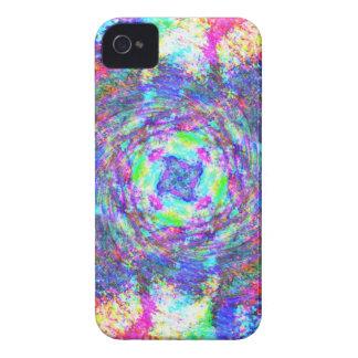 Rainbow Swirls iPhone 4 Cover