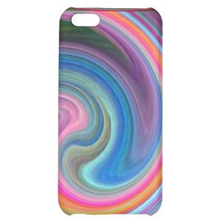 Rainbow Swirls speck case iPhone 5C Cases