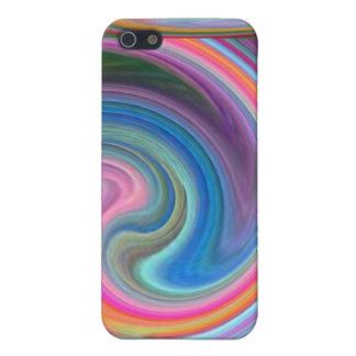 Rainbow Swirls speck case iPhone 5 Cases