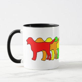 Rainbow Swissie Mug