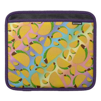 Rainbow tacos sleeve for iPads