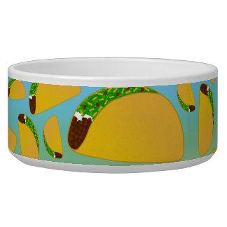 Rainbow tacos pet bowls