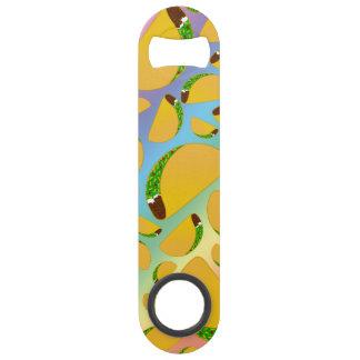Rainbow tacos speed bottle opener