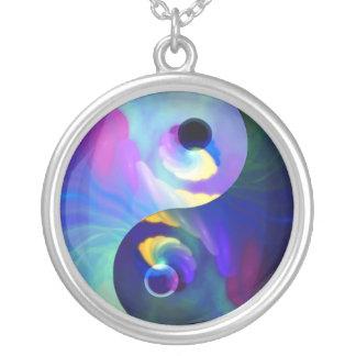 Rainbow Taijitu Yin Yang Pendants