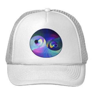 Rainbow Taijitu Yin Yang Trucker Hat