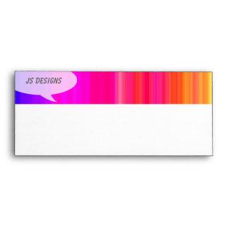 Rainbow Talk Bubble Envelope