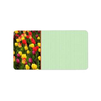 Rainbow Tapestry Label