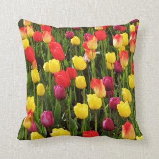 Rainbow Tapestry Throw Pillow