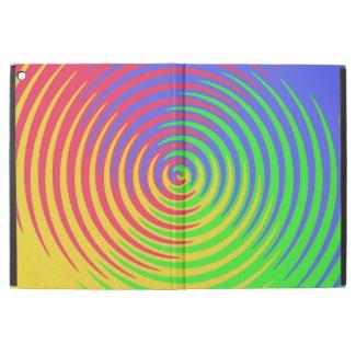 Rainbow Target Swirl iPad Pro Case