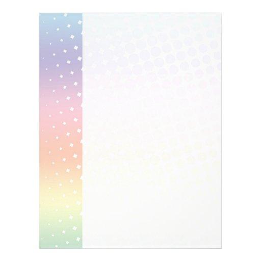 Rainbow Tech Letterhead