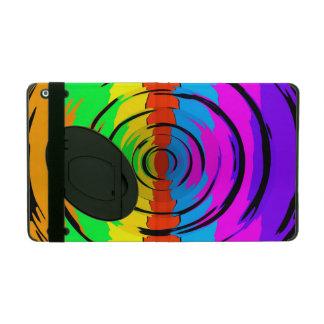 Rainbow Test Pattern iPad Folio Case