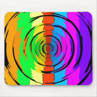 Rainbow Test Pattern Mouse Pad