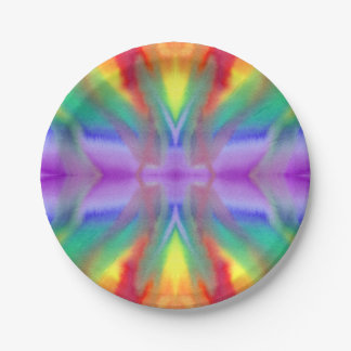 Rainbow Tie Dye Burst Paper Plates  sc 1 st  Zazzle & Dyeing Plates | Zazzle