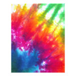 Rainbow Tie-Dye Letterhead