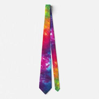Rainbow Tie-Dye Neck Tie