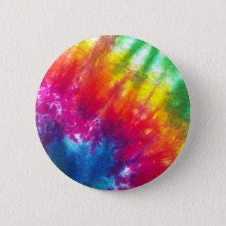 Rainbow Tie-Dye Pinback Button