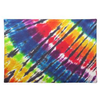 Rainbow Tie-Dye Placemat