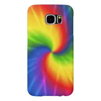 Rainbow Tie-Dye Samsung Galaxy S6 Case