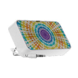 Rainbow Tie Dye Notebook Speakers