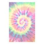 Rainbow Tie Dye Stationary Stationery