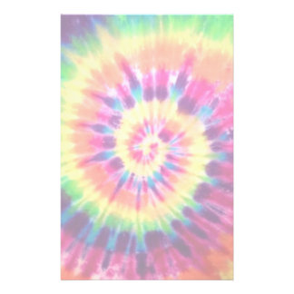 Rainbow Tie Dye Stationary Stationery