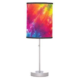 Rainbow Tie-Dye Table Lamp