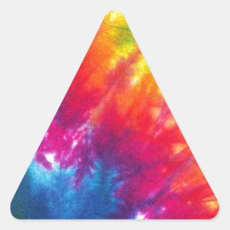 Rainbow Tie-Dye Triangle Sticker