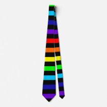 Rainbow Tie (Horizontal Stripes)