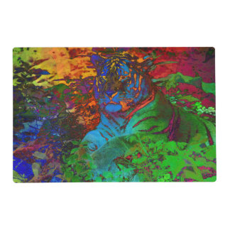 Rainbow Tiger Placemat