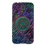 Rainbow Tiger Tapestry Celtic Knot Galaxy S5 Case