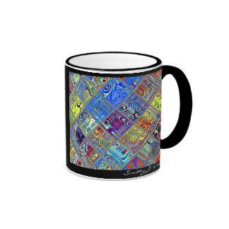 Rainbow Tile Art #7 © 2010 S.J. Ringer Mug