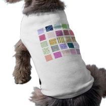 Rainbow tiled squares pattern T-Shirt
